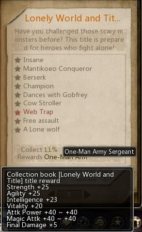 One-Man Army Sergeant